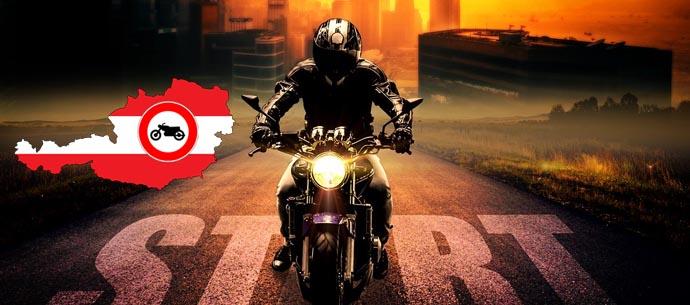 Motorrad Fahrverbot österreich